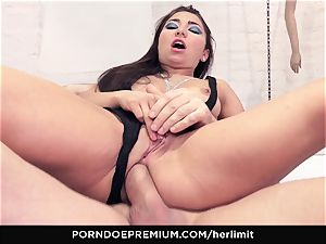 HER confine - backside jamming and blow for nubile babe