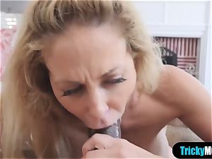 My stepmom is a instructor and she is my orgy teacher too