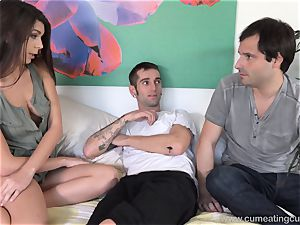 Olivia Lua penetrates Her husbands junior step-brother