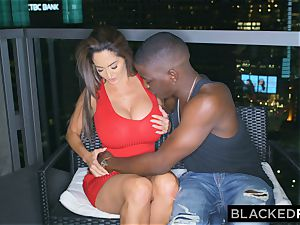 BLACKEDRAW Ava Addams Is smashing big black cock And Sending pictures To Her hubby