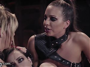 Girlsway Wastelands: delight Bot Alexis Fawx has three-way