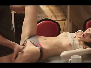 softcore orgy with horny duo