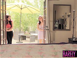 fascinating sweetheart Lana Rhoades bouncing on phat manstick