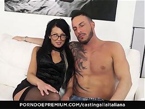casting ALLA ITALIANA - wild romp with local fledgling
