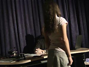 Anita seducing her older music teacher
