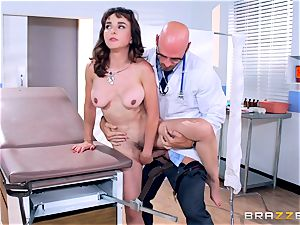 Cytherea is left splattering as she visits the doctor