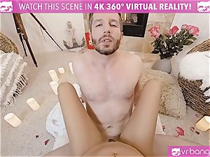 VR pornography - Thanksgiving Dinner becomes kinky screwing