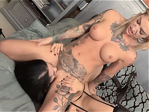 Dark Secrets for tastey stunners Kleio Valentien and Katrina Jade