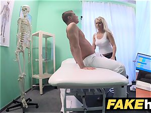 faux medical center meaty boobies cougar chiropractor boinks doc