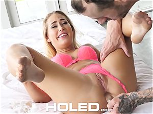HOLED first time ass fucking pound with novice Carter Cruise