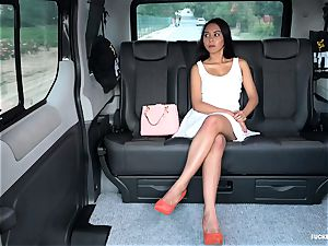 boinked IN TRAFFIC - warm car plow with Indonesian babe