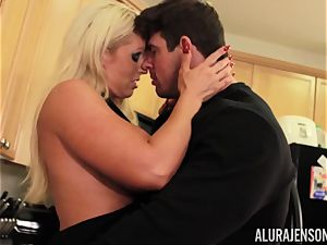 Alura Jenson gets screwed by phat muscle fellow Zeb Atlas