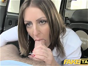 faux cab office nymph in stocking analingus assfuck orgy