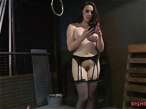 ultra-kinky dominatrix with giant breasts luvs restrain bondage