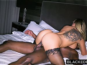 enormous breasted foolish housewife gets slain by a hefty ebony dong