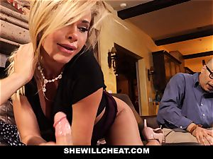 hotwife husband sees Wifes honeypot Get wrecked