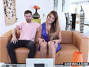 SheWillCheat - successful Kid porks hot Latina mummy