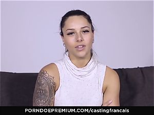 casting FRANCAIS - killer fledgling very first porn poke