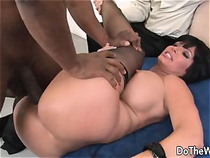 milf romped by a black dude in front of her spouse