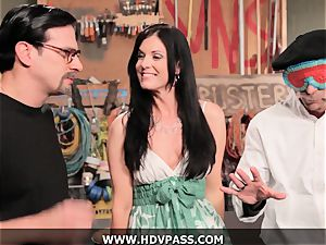 cougar Busters India Summer ravaged with jizz flow