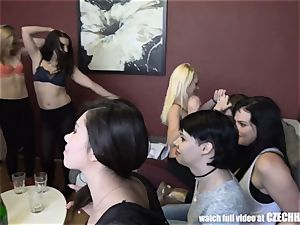 women Take Stranger to the Harem HomeParty
