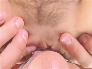 Marley Brinx point of view fellatio and railing screw