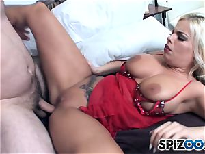 Britney Amber luvs some yam-sized enormous rod in her edible bum