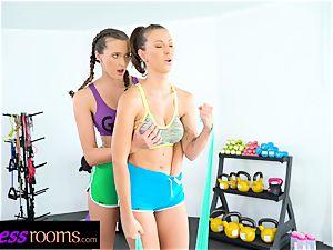 fitness apartments Stacy Cruz Emylia Argan and Dominic Anna