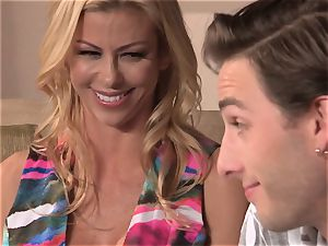 Neighbors wife pt3 wondrous cougar Alexis Fawx messing with draped nubile
