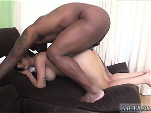meaty bum muslim Mia Khalifa attempts A huge black manmeat