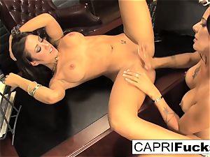 Capri Cavanni and Zoey Holloway boink