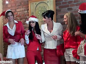 buzzed office girl girly-girl party with peeing