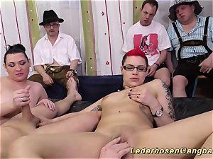 german slimy groupsex shag lovemaking
