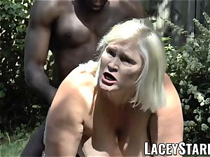 LACEYSTARR - grannie begging for youthful black man-meat