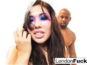 harshness in Plastic with London and Prince