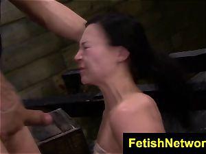 FetishNetwork Nikki Bell dungeon space bondage
