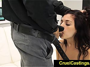 sexy Gina Valentina restricted and dominated