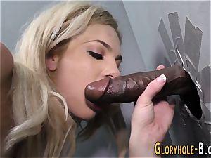 babe deep throats ebony cock
