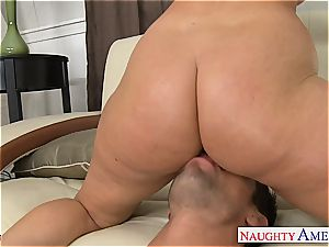 Sophie Dee has a supreme backside and luvs to poke