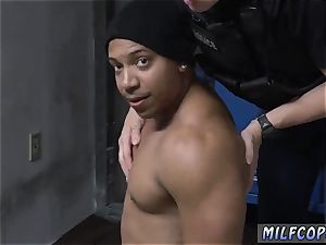 platinum-blonde white lingerie buttfuck very first time Purse Snatcher Learns A Lesboss s sonny