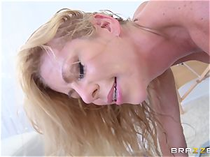 super-hot light-haired doctor Alexis Fawx