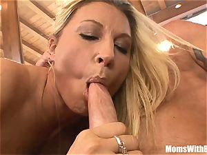 buxomy blonde Housewife Devon Lee Pierced cooter fucked