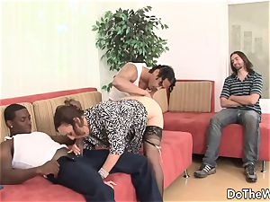 milky wife romped by two negros