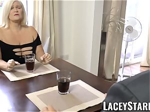 LACEYSTARR - kinkiest grandmother analled before pop-shot
