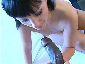 French damsel Real audition audition Gets fuckbox nailed