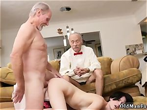 elderly enormous dick first time Frannkie goes down the Hersey highway