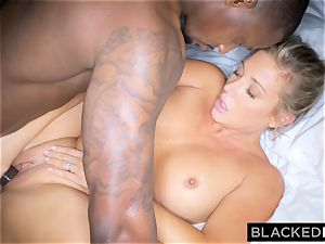BLACKEDRAW ash-blonde trophy wife Cucks Her husband With bbc