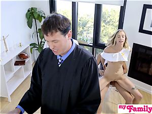Church babe pummels brother Behind Dads Back! S1:E4