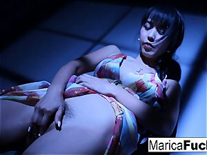 japanese sex industry star Marica gets bare