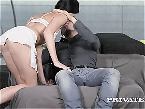 Private.com - Lovenia Lux loses her ass fucking virginity